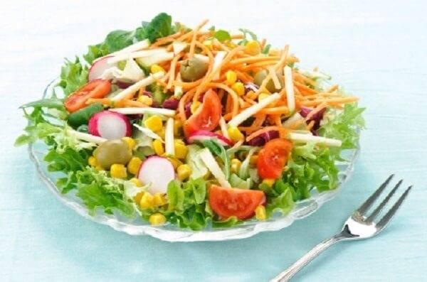 Verdure per insalate